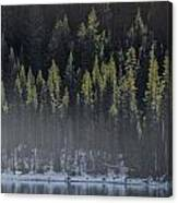 Toiga Lake Canvas Print