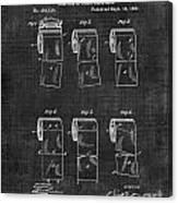 Toilet Paper Patent 040 Canvas Print