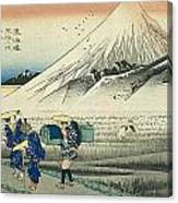 Tokaido - Hara Canvas Print