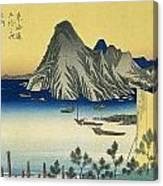 Tokaido - Maisaka Canvas Print