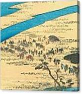 Tokaido - Shimada Canvas Print
