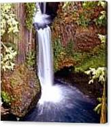 Tokatee Falls 1 Canvas Print