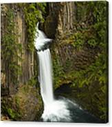 Tokettee Falls 1  Canvas Print