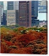 Tokyo Marunouchi Canvas Print