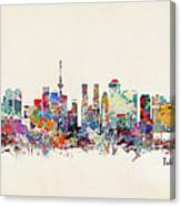 Tokyo Skyine Canvas Print