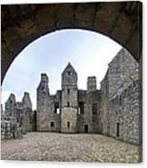 Tolquhon Castle 3 Canvas Print