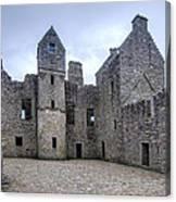 Tolquhon Castle 4 Canvas Print