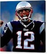 Tom Brady Back To The Super Bowl Canvas Print
