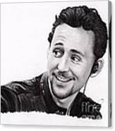 Tom Hiddleston 2 Canvas Print