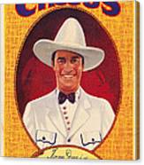 Tom Mix On 1937 Poster Art Promoting Canvas Print