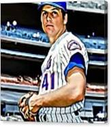 Tom Seaver Canvas Print