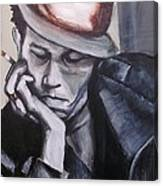 Tom Waits One Canvas Print