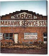 Tomahawk Garage Canvas Print