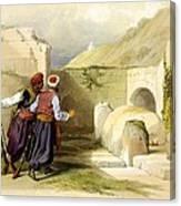 Tomb Of Joseph At Shechem 1839 Canvas Print