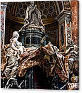 Tomb Of Pope Alexander Vii By Bernini Canvas Print