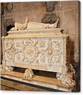 Tomb Of Vasco Da Gama Canvas Print