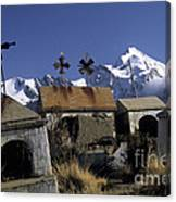 Tombs With A View Canvas Print