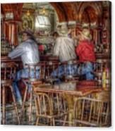 Tombstone Cowboys Canvas Print