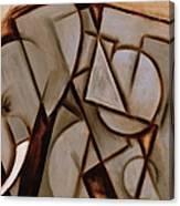 Tommervik Abstract Cubism Elephant Art Print Canvas Print
