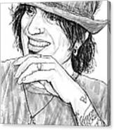 Tommy Lee Art Drawing Sketch Portrait Canvas Print