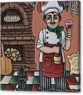 Tommys Italian Kitchen Canvas Print