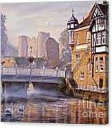 Tonbridge Castle Canvas Print