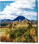Tongariro National Park New Zealand Canvas Print