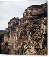 Tongue River Canyon Canvas Print