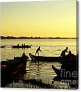 Tonle Sap Sunrise 05 Canvas Print