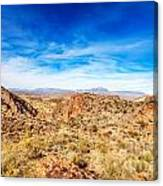 Tonto National Forest Apache Trail Canvas Print