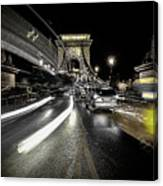 Too Much Traffic Canvas Print