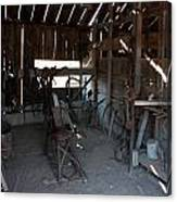 Tool Shed Canvas Print