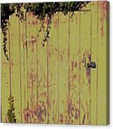 Tool Shed One Canvas Print