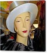 Top Hat Tallulah Canvas Print