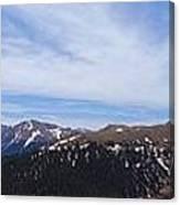Top Of Independence Pass Panorama Canvas Print