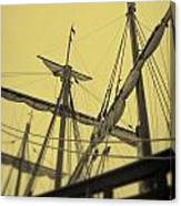 Top Of Old Ship Canvas Print