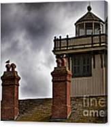Top Of Point Fermin Lighthouse Canvas Print