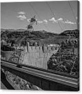 Top Of The Dam Canvas Print