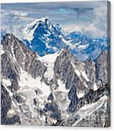 Top Of The Europe Canvas Print