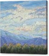 Topa Sky Canvas Print