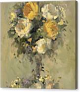 Topiary Bouquet 1 Canvas Print