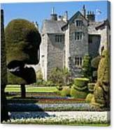 Topiary Garden Canvas Print
