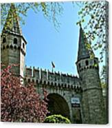 Topkapi Palace Wall And Gate In Istanbul-turkey Canvas Print