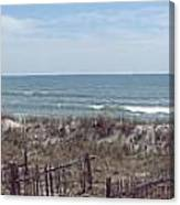 Topsail Beach Panorama 2 Canvas Print