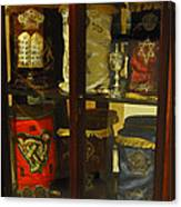 Torah Scrolls Canvas Print
