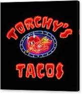 Torchy's Tacos Canvas Print