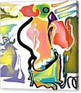 Tornadic Rose Canvas Print
