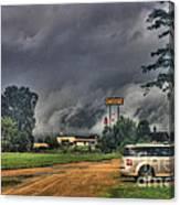 Tornado Over Madison 3 Canvas Print