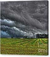 Tornado Over Madison 5 Canvas Print