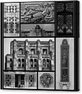 Toronto Art Deco 1 Canvas Print